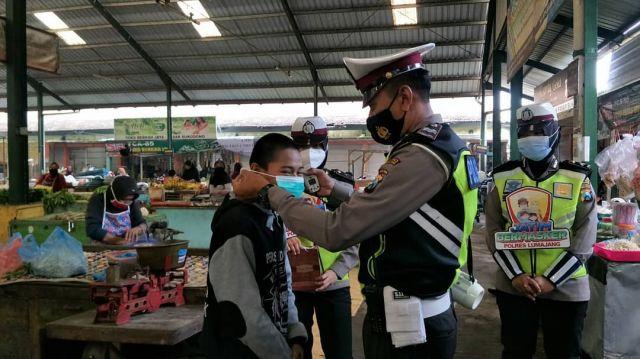 Satlantas Polres Lumajang : Pelanggar Prokes Didominasi Anak Muda