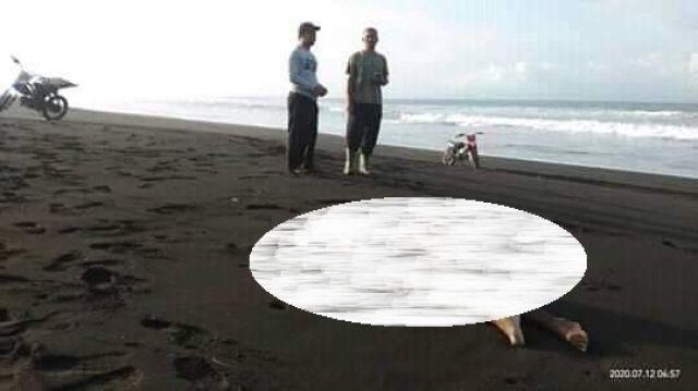 Heboh..! Ditemukan Mayat di Pantai Wotgalih Kecamatan Yosowilangun