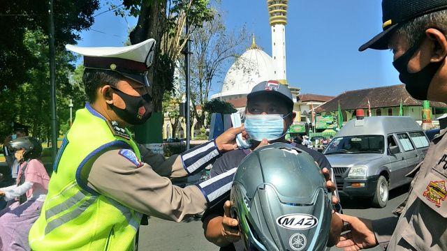 Satlantas : Ngabuburit tak Dijadikan Waktu Balap Liar di Lumajang