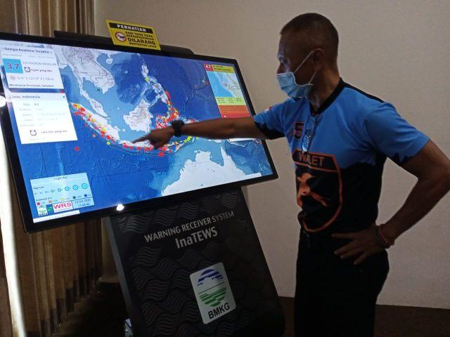 Gempa Pantai Selatan Lumajang Berpotensi Tsunami Setinggi 20 Meter