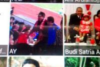 Ada Penampakan  Foto Ketua DPRD Pakai Syal Supporter PSIL di BB, Diapresiasi The Bless Mania