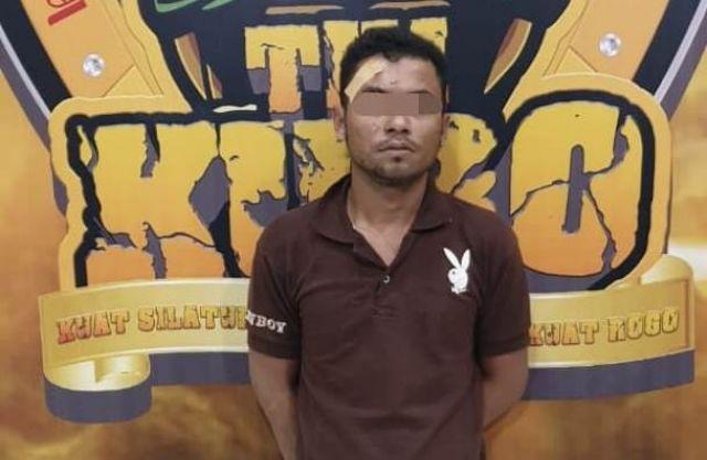 Door! Polisi Lumajang Tangkap Curanmor Asal Jenggrong  Bawa Sajam