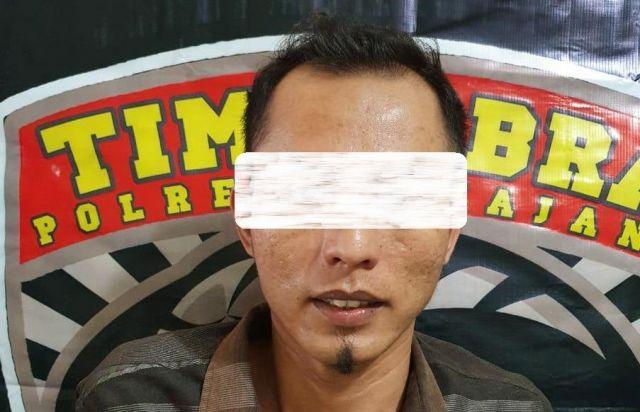 Adi Warga Desa Jatimulyo Terduga Begal Ditangkap Polres Lumajang
