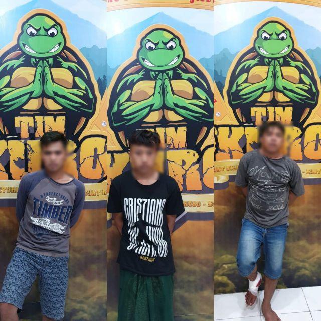 3 Pelaku Curanmor Beraksi di Yosowilangun Dibekuk Tim Kuro Lumajang