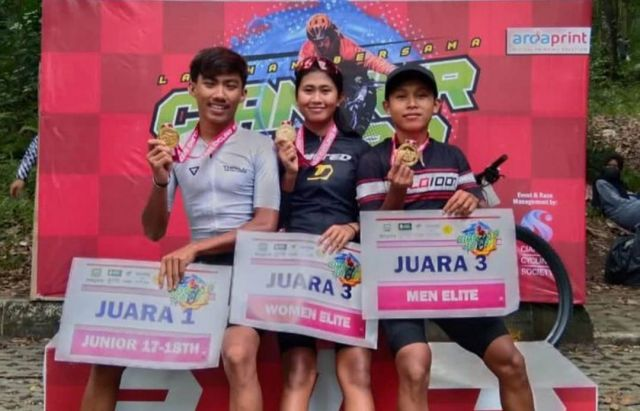 3 Atlet Sepeda XC Lumajang Jadi Jawara di Jawa Barat