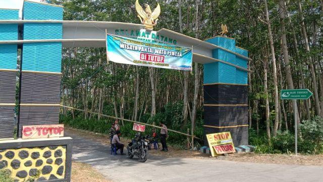Objek Wisata Pantai Selatan Lumajang dan JLS Dijaga Ketat TNI-Polri