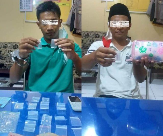 Tim Kuro Polres Lumajang Bekuk Penjual dan Pengguna Sabu Jogoyudan