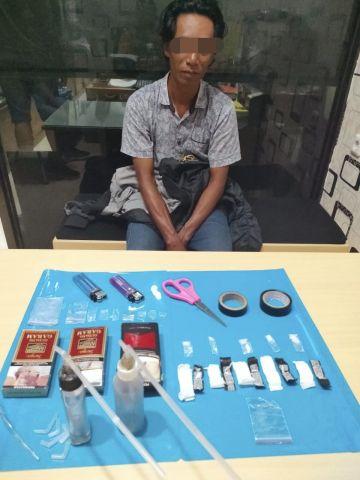 Satresnarkoba Polres Lumajang Tangkap Pengguna Sabu Asal Pasirian