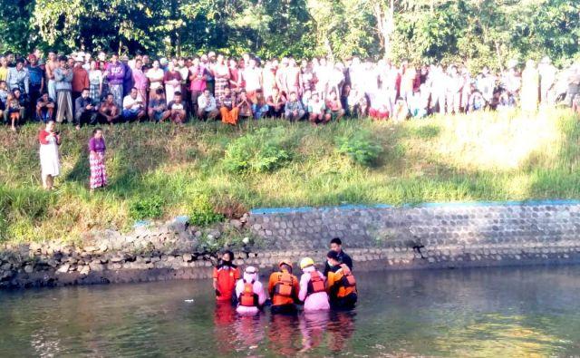 Tenggelam 2 Hari Warga Jatiroto Lumajang Ditemukan di Sungai Jember