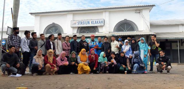 KPI IAI Syarifuddin Blusukan Gali Potensi Stasiun dan Pasar Klakah