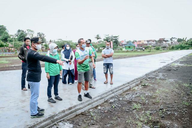 Cak Thoriq Cek Sirkuit Sepatu Roda Lumajang Standar Nasional