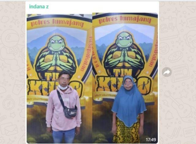 Dua Warga Kalibendo Lumajang Mracang Tapi Dodolan Miras dan Obat Teler