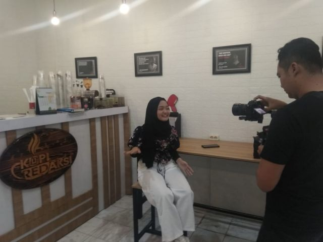 KaBe Official Syuting Video Klip Pacarku Bekas Semangatku di KWT