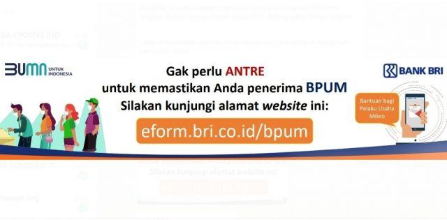 Ini Panduan Cek Penerima BLT UMKM Secara Online Warga Lumajang