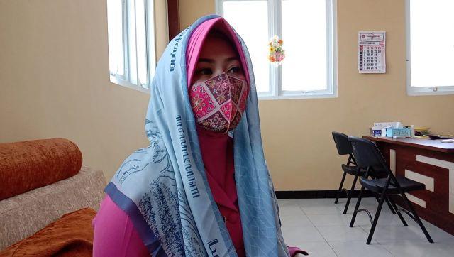 Imelda Hijab Karya Ibu Bhayangkari Lumajang Diburu Pembeli Online