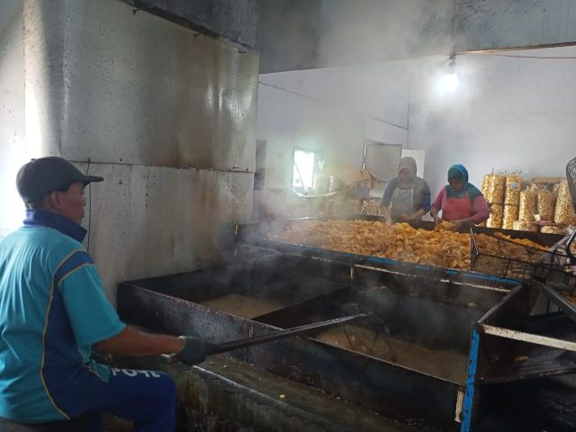 Kripik Talas Kidang Mas Lumajang Rajai Jawa Timur