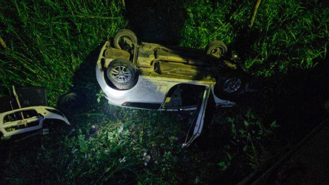 Mobil Spin Terjun ke Kali Pancing Lumajang, 1 Orang Tewas
