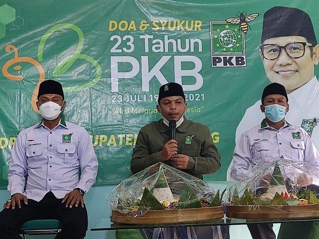 PKB Lumajang Siapkan 1000 Paket Sembako Warga Isoman
