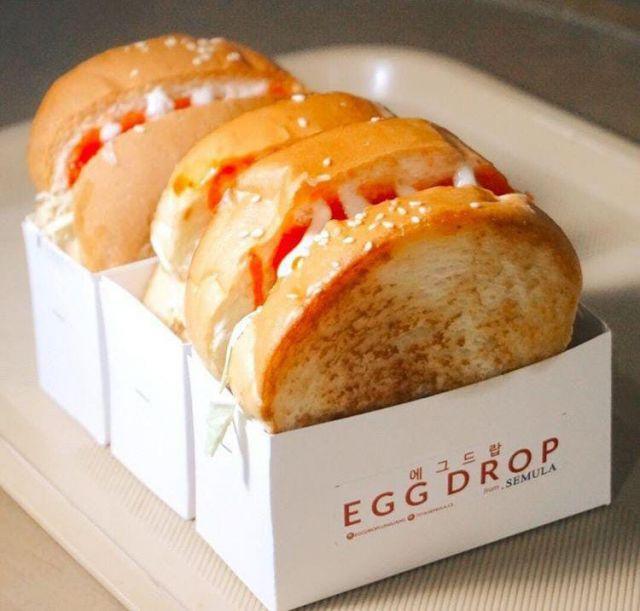 Egg Drop Roti Korea Lumajang di Gandrungi Milenial.
