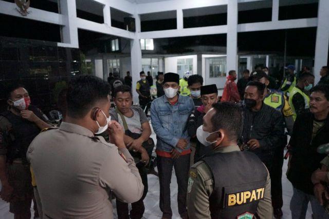 Cak Thoriq Pimpin Cipta Kondisi Harkamtibmas Gabungan Lumajang