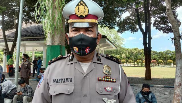 Ada Demo Mahasiswa Tagih 20 Janji Politik, Alun-alun Lumajang Ditutup