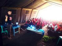 Lumajangsatu.com Berikan Pelatihan di Perkemahan Pramuka Raimuna 2015 Show Me Up