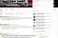 Wow..! Gerakan Twitter #Santaidilumajang Terus Populer dan Mendunia