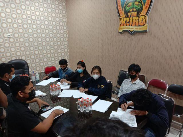 5 Remaja Pembuat Konten Joget di Jalan Toga Lumajang Datangi Polres