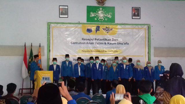 PMII Syarifuddin Lumajang Gelar Resepsi Pelantikan