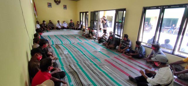 Kapolsek Candipuro Mediasi Konflik Tambang Pasir di Jugosari