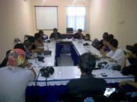 Forum Komunikasi Wartawan Lumajang Terbentuk, Arif Ulinuha JTV Terpilih Aklamasi