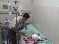 Jansen, Bocah Yang Tercebur ke Penggorengan Dirawat di RSUD dr. Haryoto