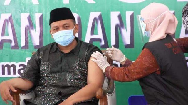 Ketua PCNU Lumajang : Vaksinasi Covid-19 ini Ikhtiyar Dzohir