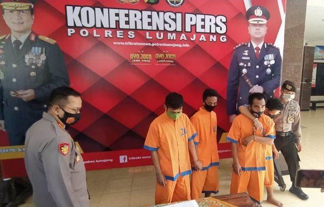 Tahanan Polres Lumajang Kabur Atas Ancaman Bromocorah