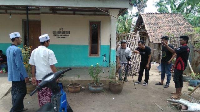 Mahasiswa KPI IAI Syarifuddin Bikin Film Pendek Tema Santri Lumajang