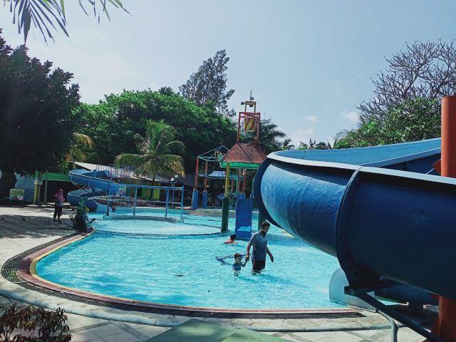 Water Park Wonorejo Lumajang Sepi Pengunjung