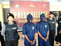 Kompak, Dua Bersaudara Pelaku Perampokan di Desa Kaliwungu Diringkus Polisi