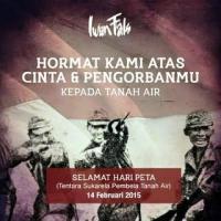 Sejarah Indonesia, 14 Februari Bukan Perayaan Valentine Tapi Hari Lahir Tentara PETA