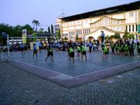 Kejuaraan Bola Voli Piala KONI Antar Pelajar berlangsung Meriah di Stadion Semeru