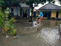 Hujan Deras, Puluhan Rumah di Desa Tukum dan KarangbendoTerendam