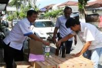Jelang Puasa Ramadhan, Polisi Amankan Ratusan Botol Miras