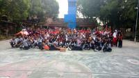 Ratusan Pelajar Ikuti Latihan Gabungan Paskibra Sekolah se-Lumajang