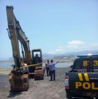 Tambang Pasir Galian C dan B Sembunyi-Sembunyi, Polisi Janji Ditindak dan Ditangkap