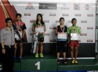 Jatim Junior Master 2015, Lumajang Borong 2 Medali Tunggal Putri Anak-anak