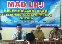 Gelar MAD, PNPM Mandiri Pedesaan Candipuro Sehat dan Surplus