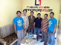 Berkunjung ke Redaksi lumajangsatu.com, Syaiful Bahri Anshori Dukung Tumbuhnya Media Lokal