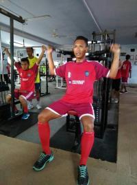 Tingkatkan Kemampuan Fisik, Pemain Semeru FC Dilatih di Primkopol Fitnes Center