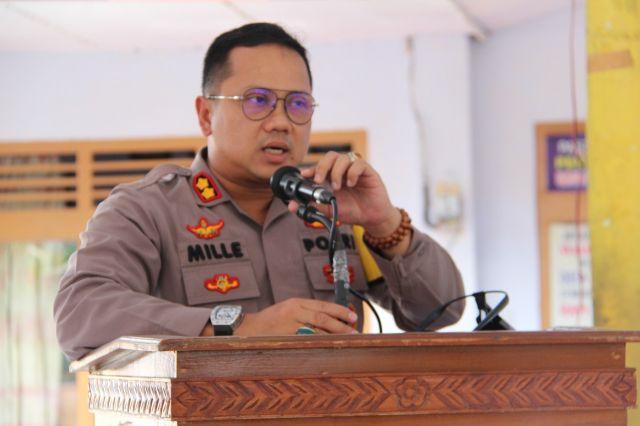 AKBP Deddy Mille Gelar Sayembara Desain Logo Tim Kuro Polres Lumajang