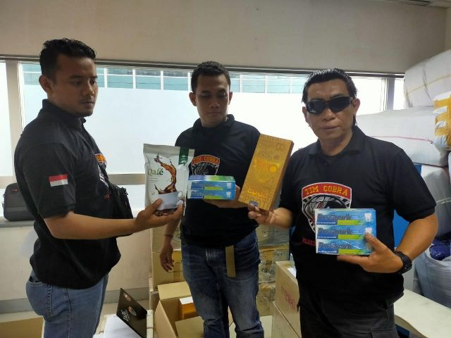 Tim Cobra Polres Lumajang Berhasil Geledah Kantor Pusat Qnet di Jakarta