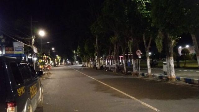 Ada Operasi Besar Tim Cobra di Malam Minggu Membuat Jalanan Lumajang Lengang